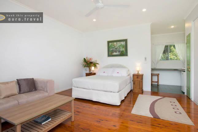 jungara cairns bed breakfast 1 bedroom bed breakfast for rent rh aura travel
