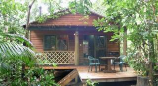 Crater Lakes Rainforest Cottages