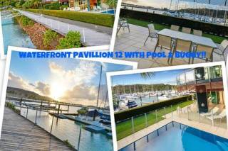 Pavillion 12 - Waterfront Spacious 4 Bedroom With Own Inground Pool And Golf Buggy